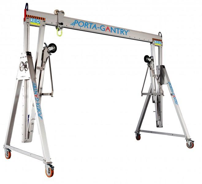 Alloy Gantry 2 Tonne   London Tool & Lift Hire