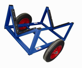 how to make a boat pulling trolley